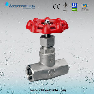 J15W Stainless Steel Threaded Globe Valve pictures & photos