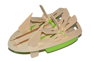 Wooden Construction Set Boat pictures & photos