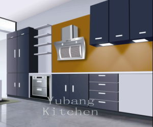 Baked Paint Kitchen Cabinet (M-L94) pictures & photos