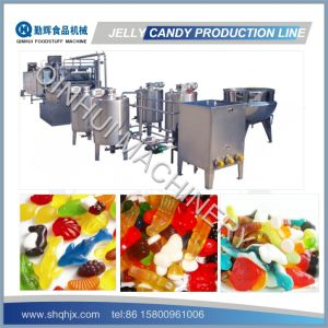 Frequency Control&Full Automatic Jelly Candy Making Machine pictures & photos