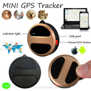 Mini GPS Tracker Pendant for Car / Pet / Luggage / Person (T8S) pictures & photos