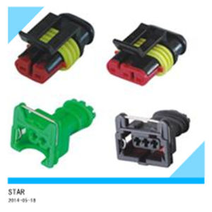 High Quality 2pin Plastic Auto Connector pictures & photos