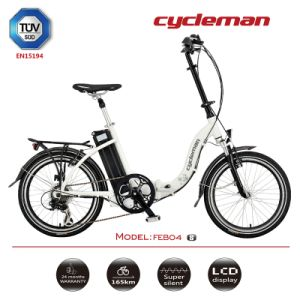 TUV Approved Foldable Electric Bike