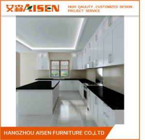 2017 Aisen Modern Wholesale Modular Small Lacquer Kitchen Cabinets pictures & photos