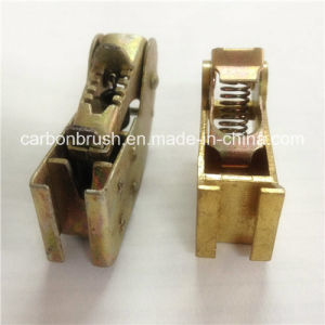 Find Copper Carbon Brush Holder/shelf for motor carbon brush pictures & photos