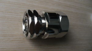 """DIN Male Connector for 7/8"""" Feeder Cable (7/16-J/7/8)"""