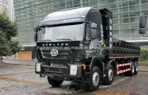 Saic Iveco Hongyan Genlyon 390HP 8X4 Dump Truck/Dumper /Tipper Truck Euro 4 Hot on Sale pictures & photos