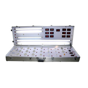 High Quality Silver Color LED Demo Case for 4feet T8 LED Tube Test pictures & photos