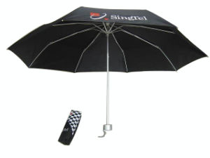 Promotion Advertising Gift Umbrella 3 Folding Umbrella (3FU019) pictures & photos