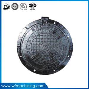OEM Sand Cast Iron Casting Sewer Manhole Cover for Roadway Safety pictures & photos