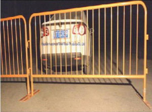 Powder Coating Removable Road Crowd Control Barrier with Flat Feet pictures & photos