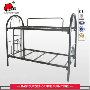 School Furniture Metal Bunk Bed with Ladder pictures & photos