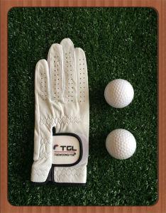 White Right Hand Premium Cabretta/ Genuine Leather/ Masonic Golf Glove