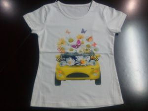 Active Children Girl T-Shirt in Kids Clothing pictures & photos