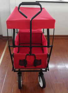 Folding Utility Wagon with Canopy pictures & photos