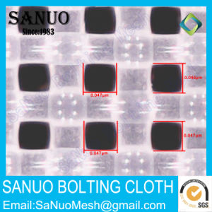 Sanuo Best Quality 100t-15D/40um-65inch/165cm-Screen Printing Mesh pictures & photos