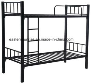 School Hotel Military Worker Cheap Steel Metal Bunk Bed pictures & photos