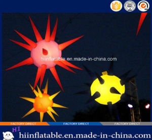 Colorful Party, Entertainment, Event LED Lighting Ceiling Decoration Inflatable Star 029