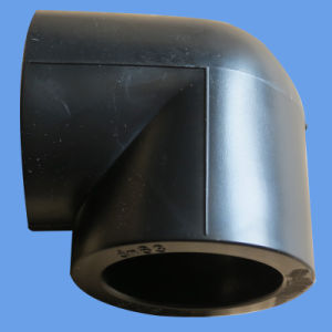 Socket Fusion Elbow 90deg PE Pipe Fitting for Water Supply pictures & photos
