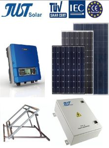High Quality 4kw on Grid Solar System for Industrial pictures & photos