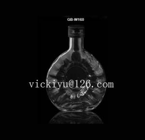 200ml Whisky Glass Bottle with Metal Cap Vodka Glass Bottle pictures & photos