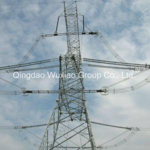 66kv 110kv 500kv 1000kv Low Voltage High Voltage Power Transmission Line Angular Steel Towers pictures & photos