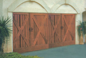 Wood Sectional Garage Door/ Sectional Garage Door/ Garage Door pictures & photos