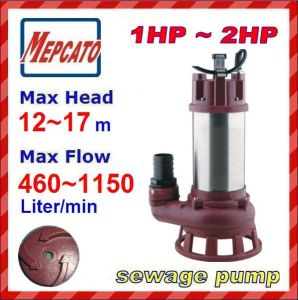Submersible Water Pump for Sewage Water