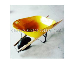 Wooden Handle Garden Tools Hand Cart pictures & photos
