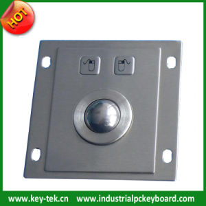 IP65 Stainless Industrial Trackball with 25.0mm Trackball