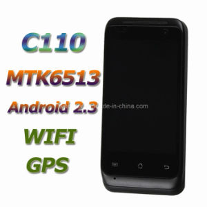 "C110 Android Mobile Phone Mtk6513 Android 2.3 3.5"" Capacitive Screen GPS WiFi"