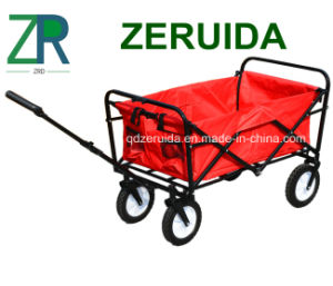 North America Folding Utility Wagon Beach Cart pictures & photos