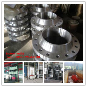 Forged Flange Flat Die Forging Meeting ISO9001 Factory Outlet pictures & photos