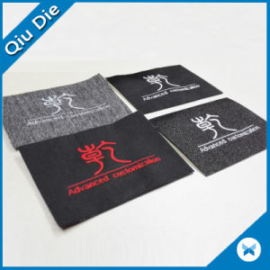 Adhesive Lining Woven Label Use for Clothing pictures & photos