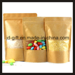 Ziplock Stand up Pouches with Matt Window for Tea/Salt/Food pictures & photos