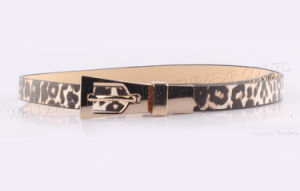 2016 New Leopard Women Leather Belt pictures & photos