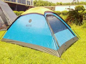 Portable Hiking Shelter 3-4 Person Pop up Camping Tent pictures & photos
