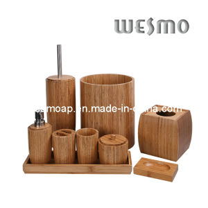 High-End Carbonized Bamboo Bath Coordinates (WBB0612A) pictures & photos
