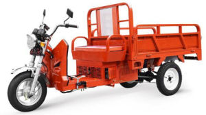 Gasoline-Electric Tricycle 1.5m Cargo pictures & photos