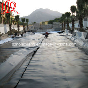 Low Price PE Black Plastic Rolls 1.5mm HDPE Geomembrane Liner pictures & photos