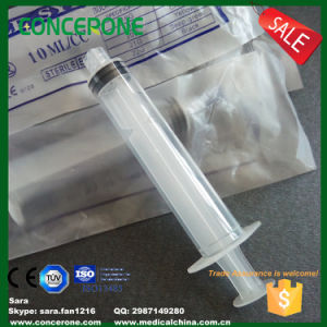 Plastic Syringe with Luer Lock Cap for Cosmetic Cream pictures & photos