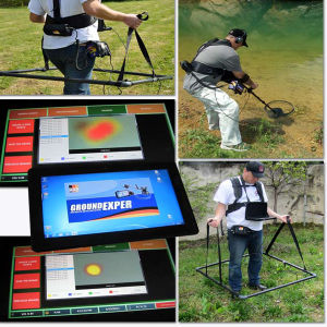 Gold Detector/Ground Exper PRO/3D Scan Metal Detector/3D Gold Detector (control unit + 1 battery + 2 coils+ 100CCM coil touchpad + shaft + bluetooth) pictures & photos