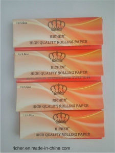 Richer Paper Rolling Paper Booklet Arabic Gum pictures & photos