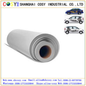 Advertising Material 0.08mm PVC Self Adhesive Vinyl with Removable Glue pictures & photos