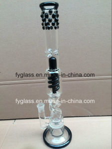 Glass Water Pipe Smoking Pipe with Functional New Perc pictures & photos
