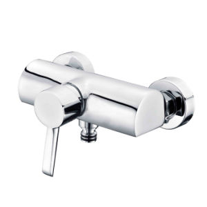 Sanitary Ware Bathroom Set with Rainfall Shower Head Brass Adjustable Shower Bar Bathroom Accessories pictures & photos