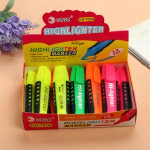 6 Colors Soft Grip High Quality Highlighter Pen pictures & photos