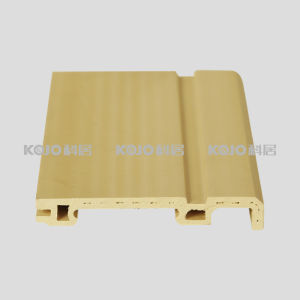 Anti-Mildew Eco-Friendly Floor Accessory WPC Skirting (PT-8012A) pictures & photos