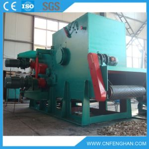 Ly-2113c 60-65t/H Hot Sale Drum Wood Chipper for Biomass Power Plant pictures & photos