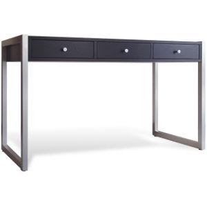 Black Metal Frame Office Desk, Simple Computer Desk (BD 03)